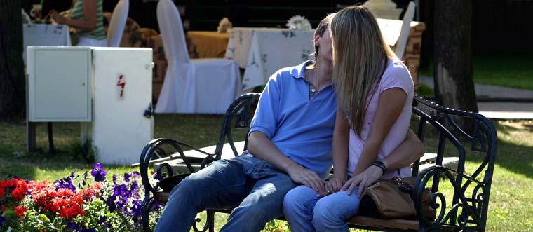 Kyssar - den första kyssen